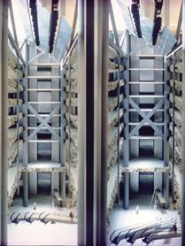 Рис. 3. Система перенаправления естественного света внутри здания (макет) (иллюстрация Академии света Бартенбаха)