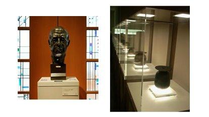 Panasonic осветил музей OLED панелями
