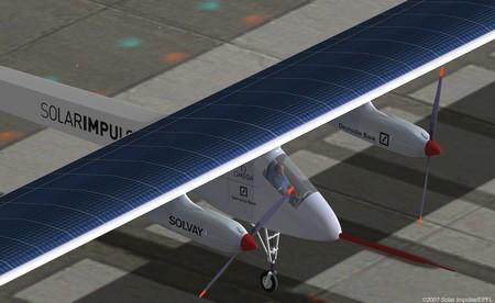 Завершился тестовый полет самолета Solar Impulse