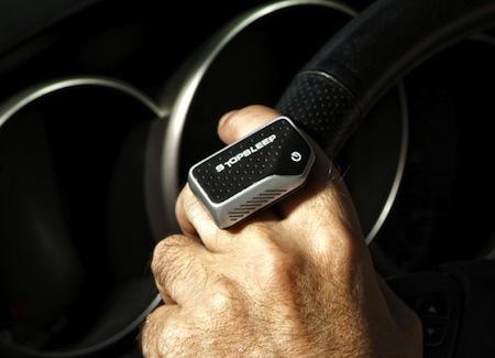 Перстень Stop Sleep поможет водителю бороться со сном. Фото Владимира Марченко, Forbes