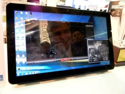 В 15,6-дюймовом 3D-дисплее компании AU Optronics применяется технология отслеживания положения лица