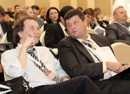 Члены экспертного совета Юрий Гончаров и Владимир Бредников