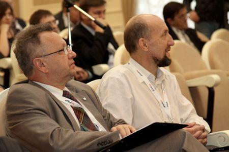 Члены экспертного совета Георгий Келл и Николай Комлев