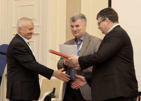 Вручение премии ЖЭР компании «ЭЛТА» в номинации «За коммерческий успех»