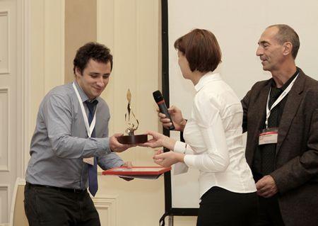 Вручении премии и памятного приза НТЦ «Модуль» за победу в номинации «Самый амбициозный проект»