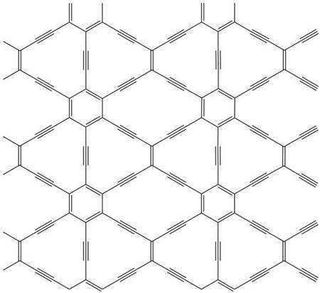 Углеродная решетка 6,6,12-графина