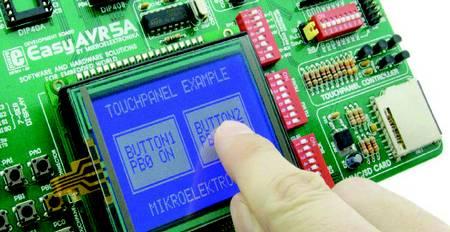 Самостоятельное создание управляющего устройства с сенсорной панелью