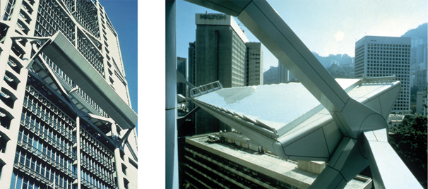 Рис. 2. Система естественного освещения шанхайского банка в Гонконге (иллюстрация Академии света Бартенбаха)