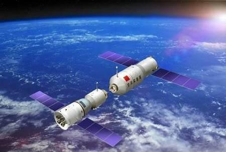 Пилотируемый китайский космический корабль состыковался с орбитальным модулем «Тяньгун-1»
