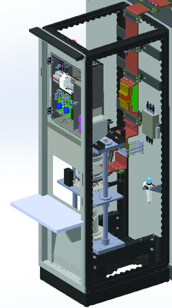 Зажимное устройство установки ударного тока