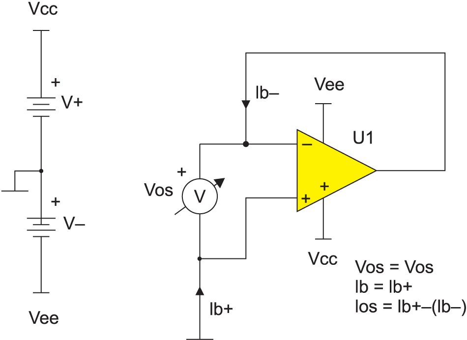 Схема для тестирования VOS, IB, IOS