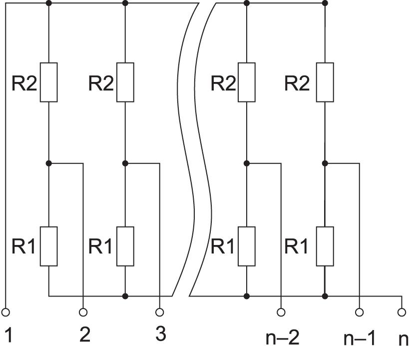 Электрическая схема «двойной терминатор»