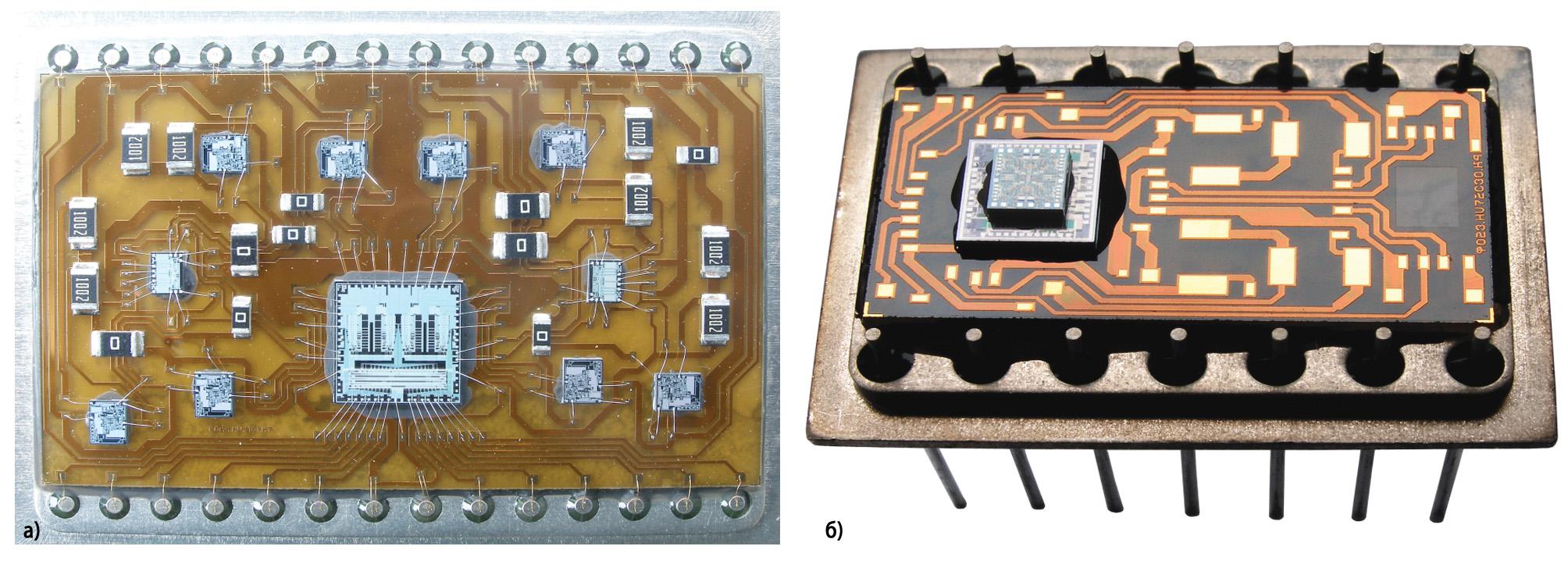 Сборка многокристальных модулей на объединительных подложках