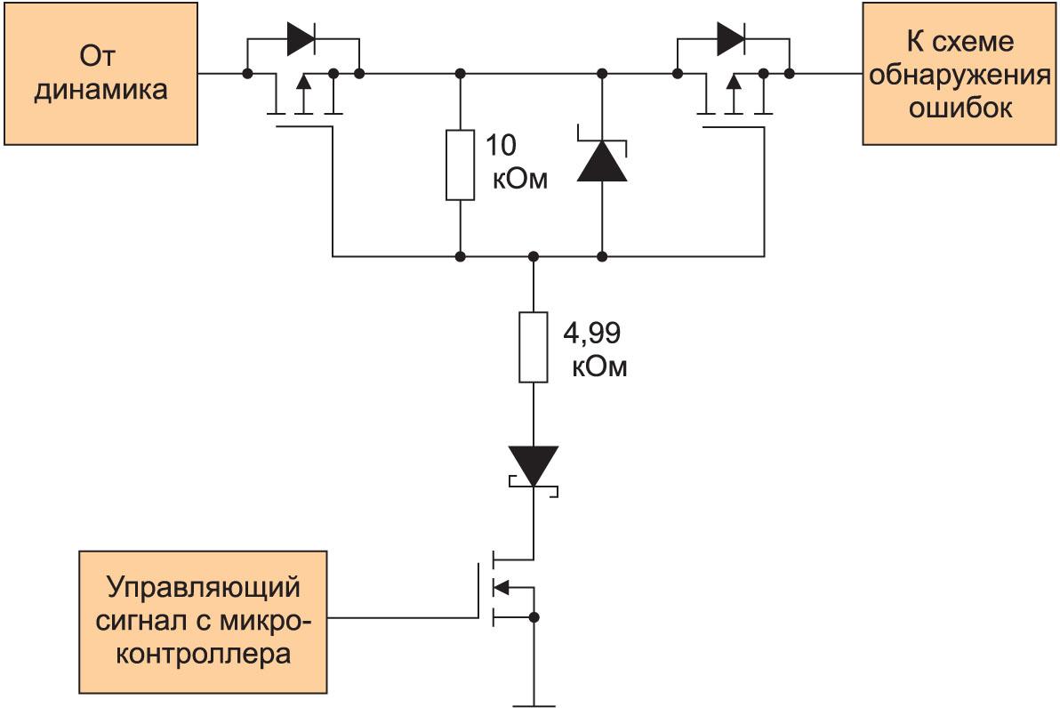 Схема развязывающего ключа