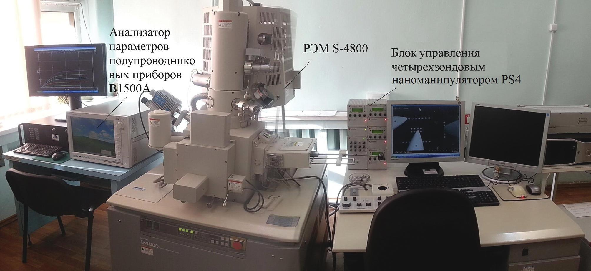 Измерительный комплекс контроля элементов ИС методом EBIC