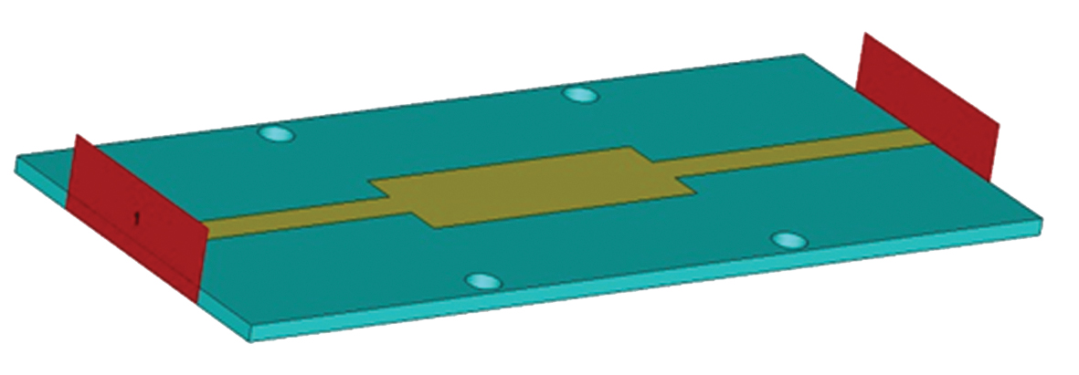 Модель последовательного резонатора