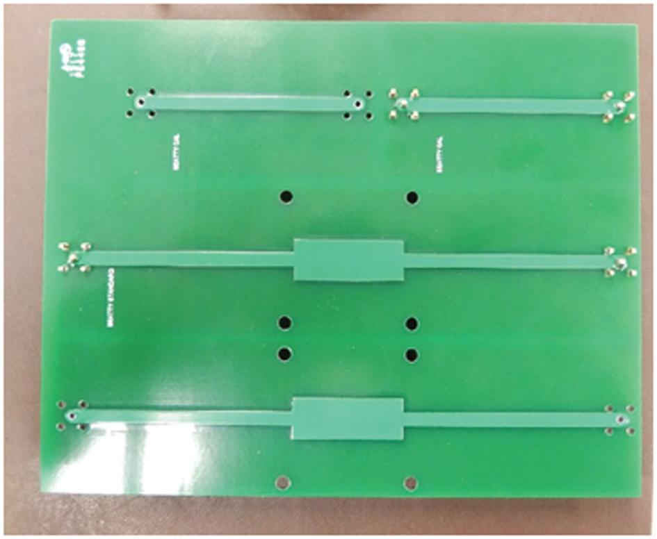 Последовательные резонаторы и 2-ступенчатая калибровочная структура (метод 2x Тhru)